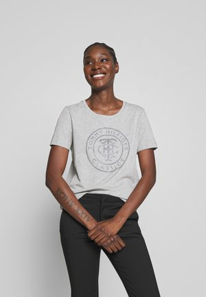 TIARA - T-shirt imprimé - light grey heather
