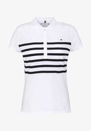 ALEX SLIM - Poloskjorter - white