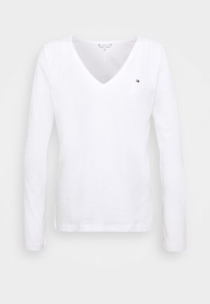 CLASSIC - Long sleeved top - white