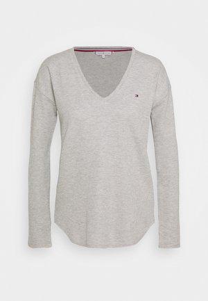 CATHY - Top sdlouhým rukávem - light grey