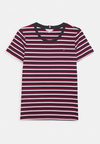Tommy Hilfiger - ESSENTIAL ROUND - Print T-shirt - ombre/primary red - 4