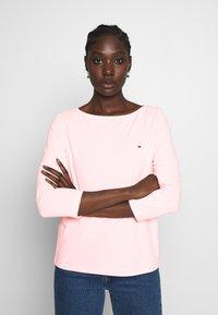 Tommy Hilfiger - CLASSIC BOAT - Bluzka z długim rękawem - pastel pink - 0