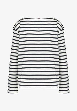 Long sleeved top - marine/weiß (943)
