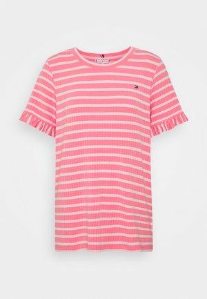TANJA RELAXED - T-shirt print - breton/pink