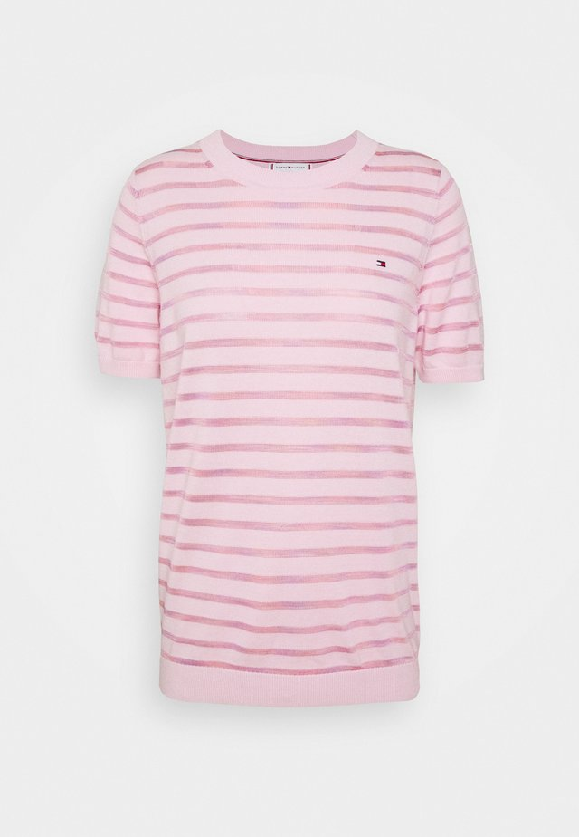 BALLOU - Print T-shirt - frosted pink