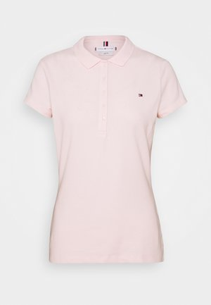 SHORT SLEEVE SLIM - Poloskjorter - pale pink