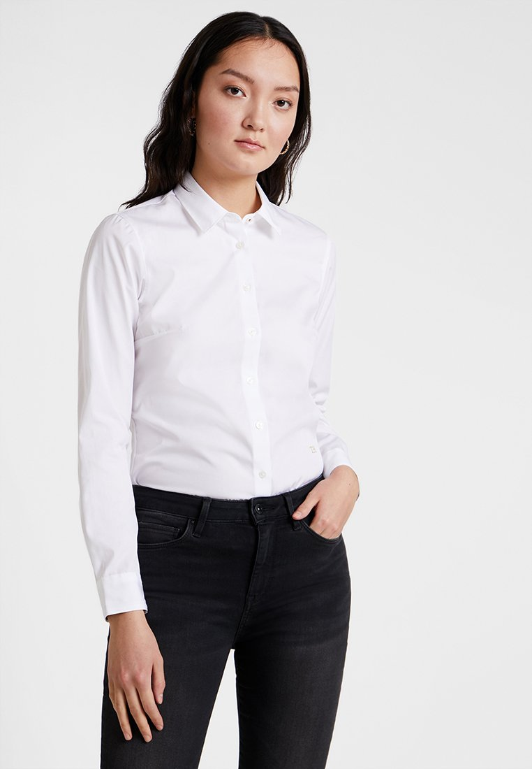 Tommy Hilfiger - ESSENTIAL  - Button-down blouse - white