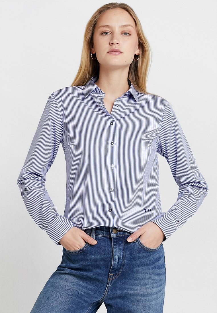 Tommy Hilfiger - ESSENTIAL  - Button-down blouse - blue