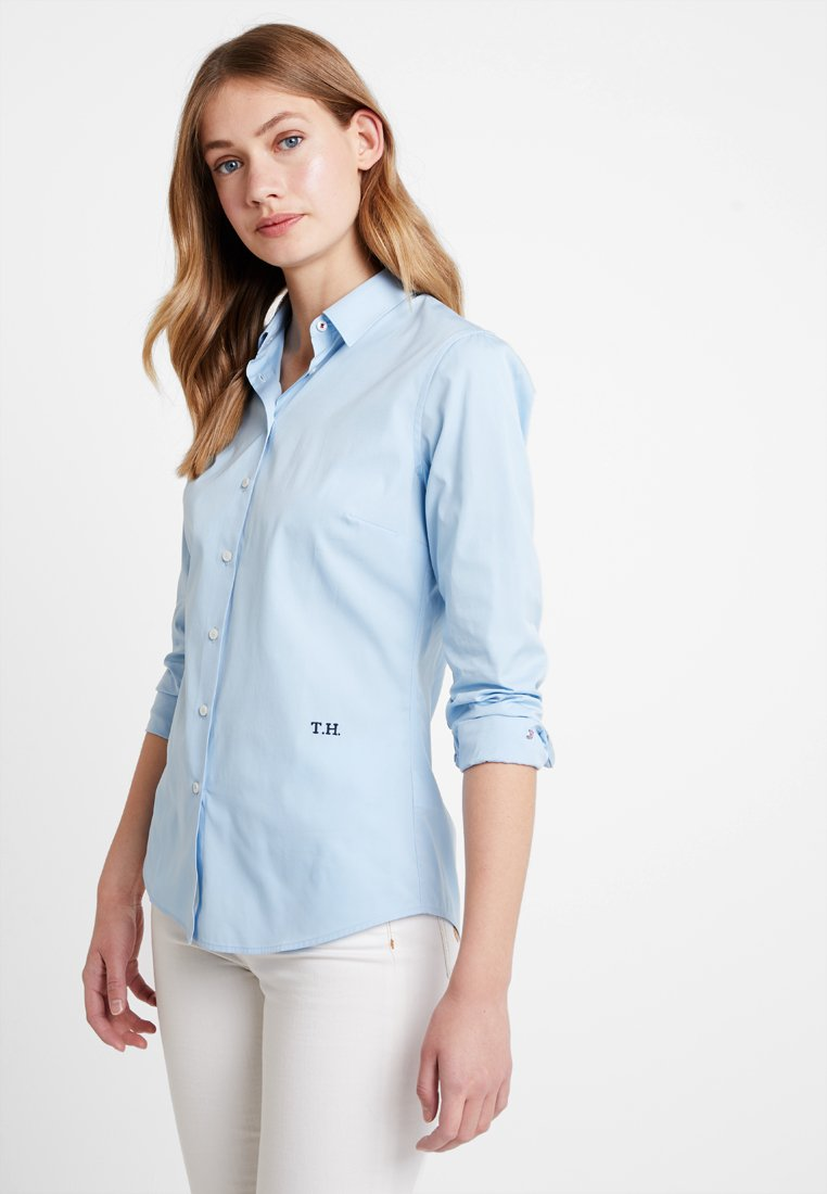 Tommy Hilfiger - ESSENTIAL  - Button-down blouse - blue