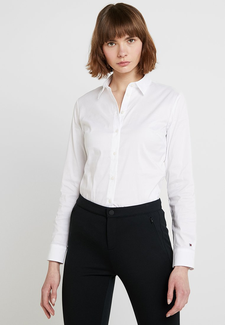 Tommy Hilfiger - HERITAGE SLIM FIT - Camicia - classic white