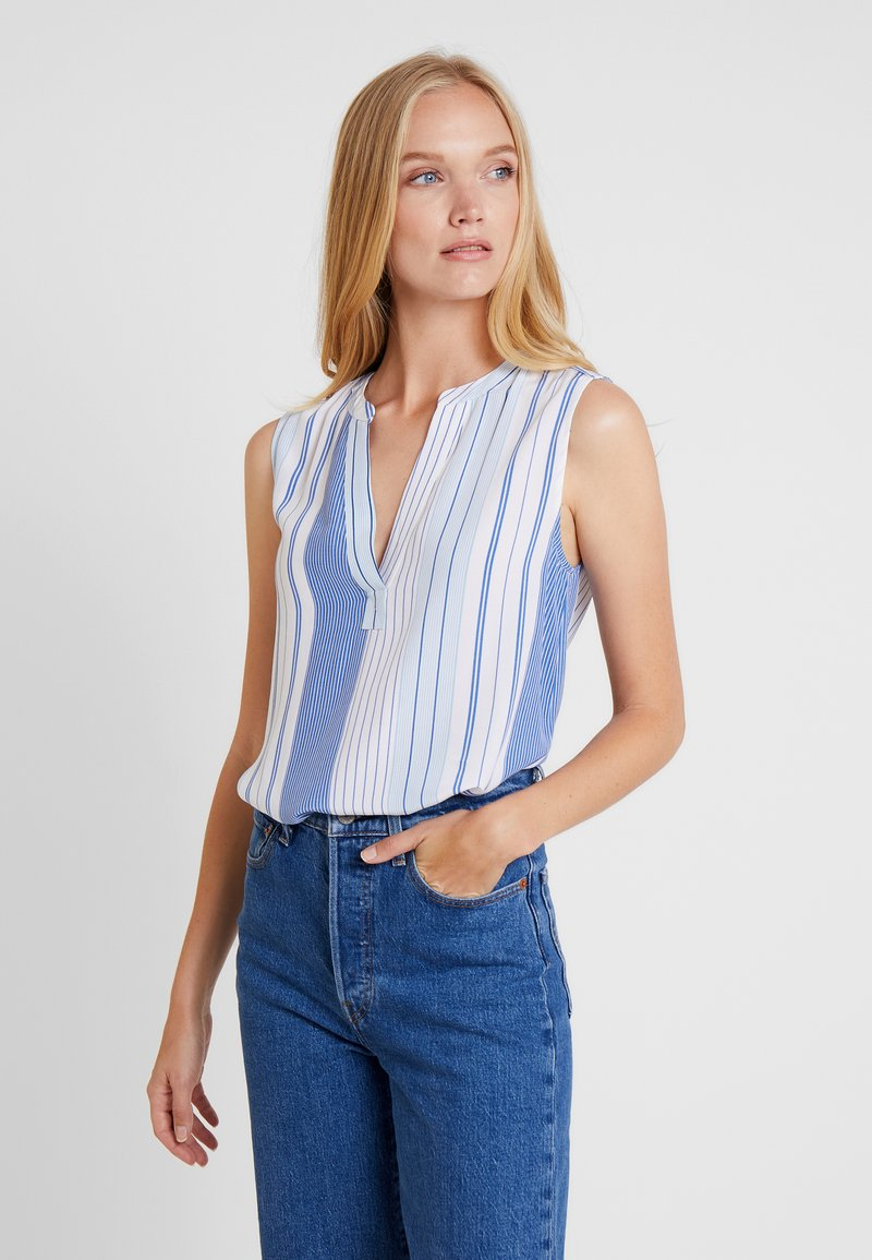 Tommy Hilfiger - FALLEEN BLOUSE - Bluse - blue
