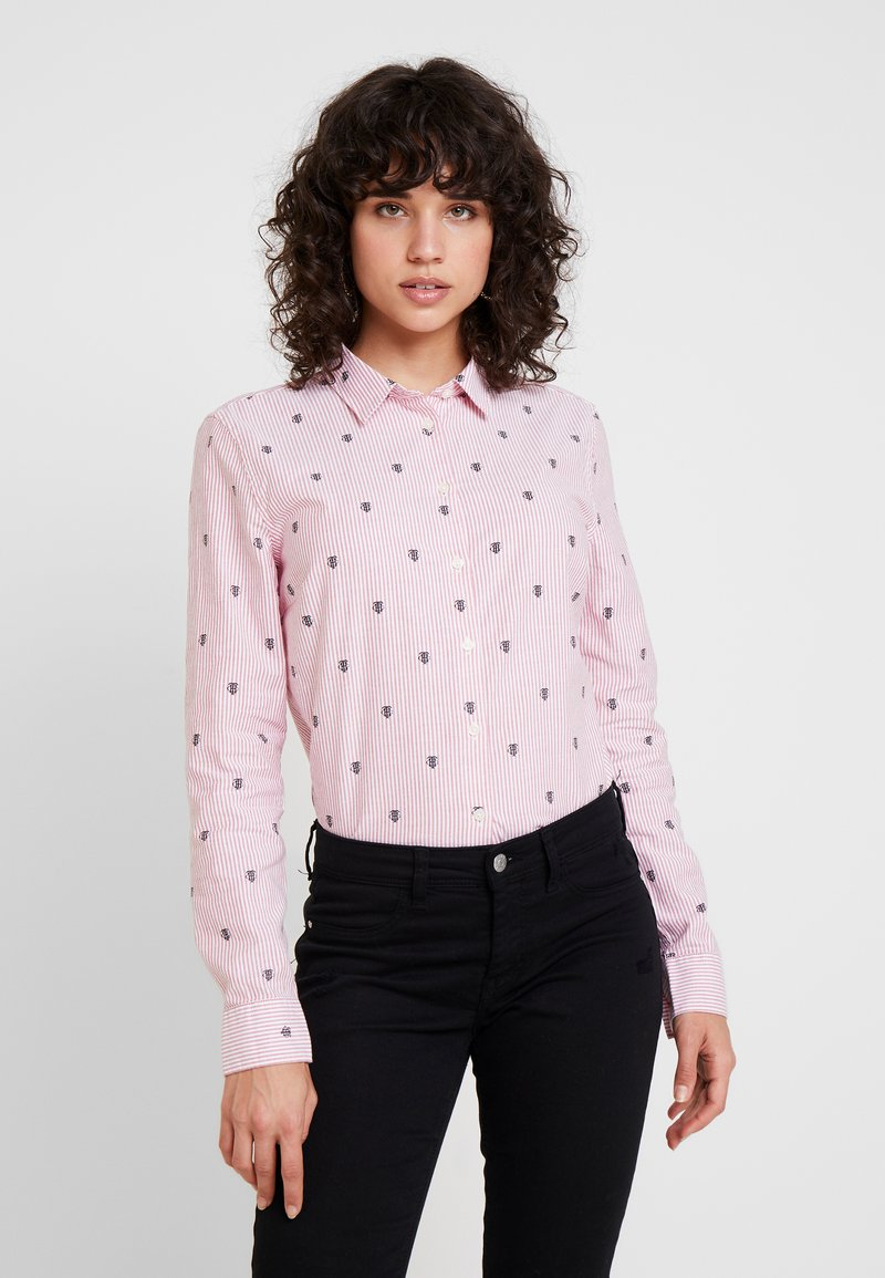 Tommy Hilfiger - Button-down blouse - red