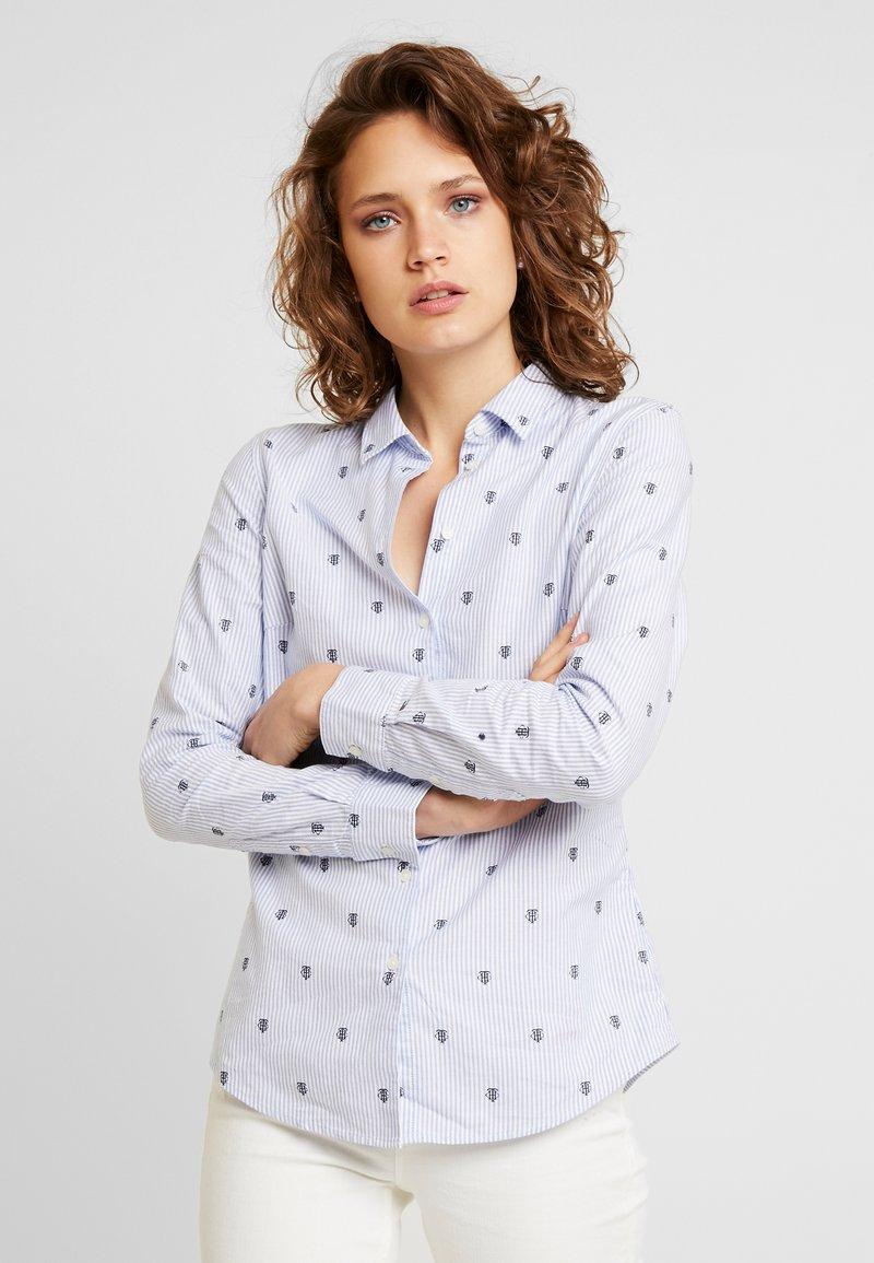 Tommy Hilfiger - Button-down blouse - blue