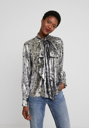 ZENDAYA STAR BLOUSE - Bluzka - metallic