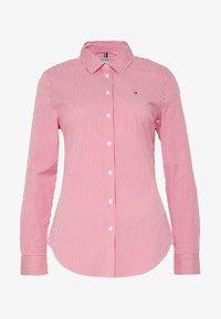 light pink/white