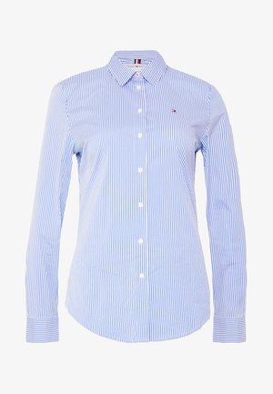 ESSENTIAL - Button-down blouse - copenhagen blue