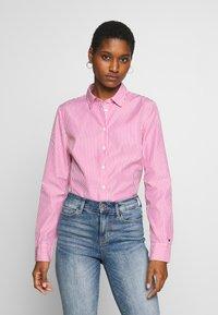 Tommy Hilfiger - DANNA - Camisa - pink jewel - 0