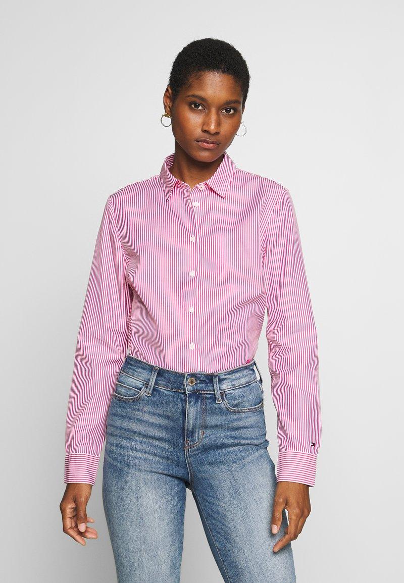 Tommy Hilfiger - DANNA - Camisa - pink jewel