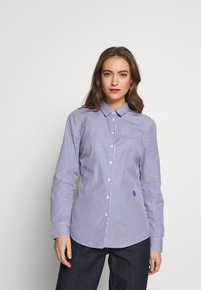 DANNA - Button-down blouse - cobalt