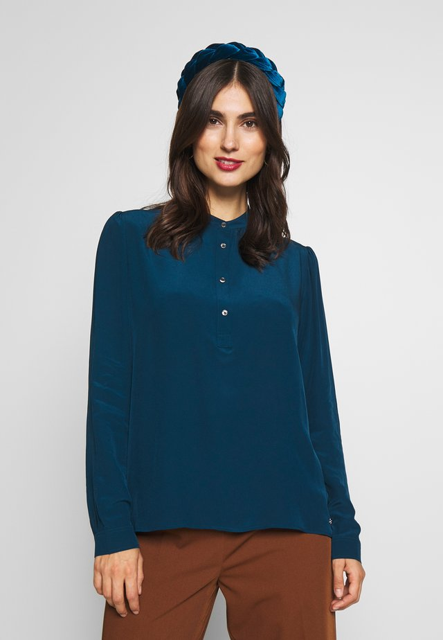 DION OVER BLOUSE - Bluzka - mariner blue