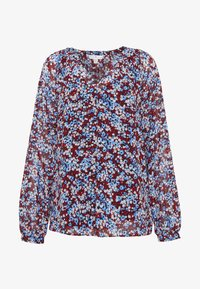 Tommy Hilfiger - KAESHA BLOUSE - Bluser - white/blue/red