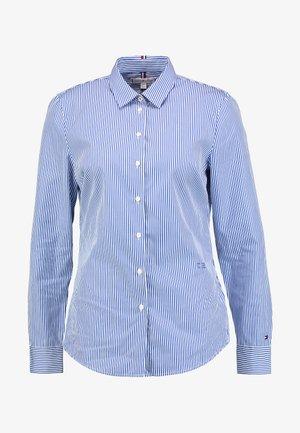 ESSENTIAL - Button-down blouse - cobalt