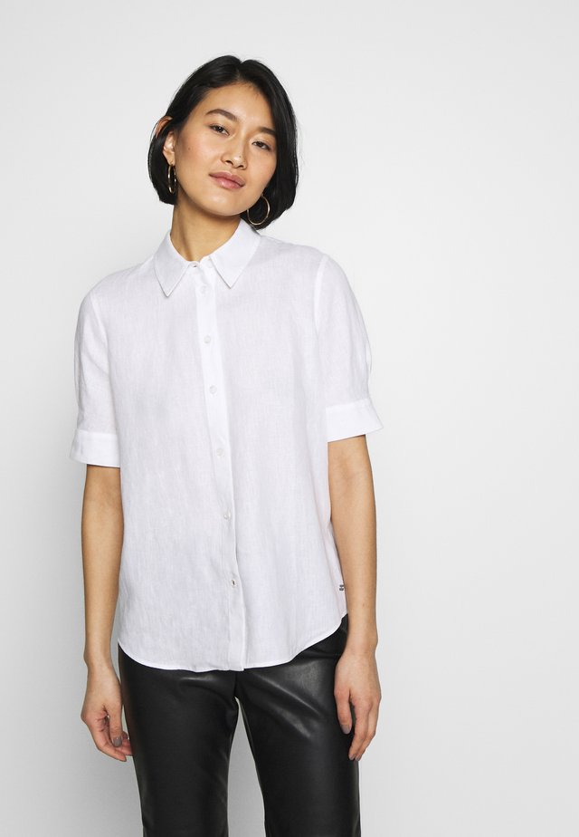 ESSENTIAL PENELOPE SHIRT  - Button-down blouse - white