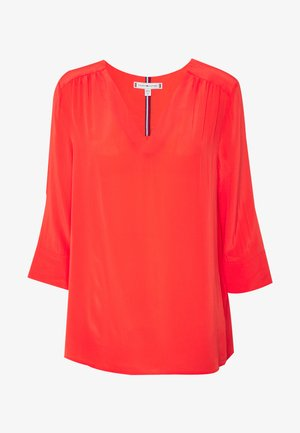 LOTTIE BLOUSE - Blouse - bright vermillion