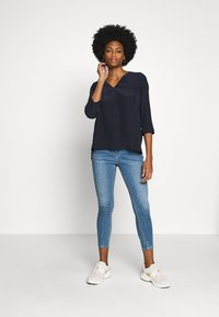 Tommy Hilfiger - LOTTIE BLOUSE - Blouse - blue ink - 1
