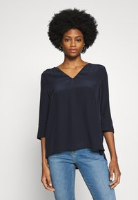 Tommy Hilfiger - LOTTIE BLOUSE - Blouse - blue ink - 0