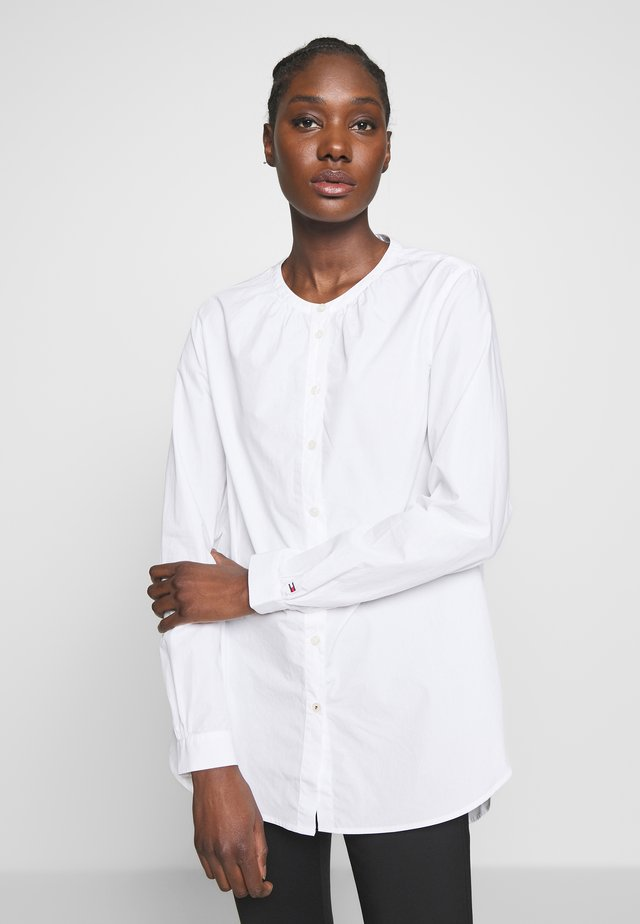 TH ESSENTIAL LEASHIRT LS W4 - Bluzka - white