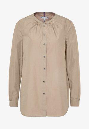 TH ESSENTIAL LEASHIRT LS W4 - Bluse - beige