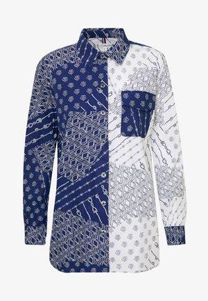 MILLIE  - Camisa - navy/white