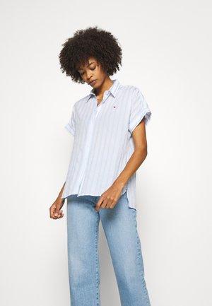 RAYLA SHIRT  - Button-down blouse - blue