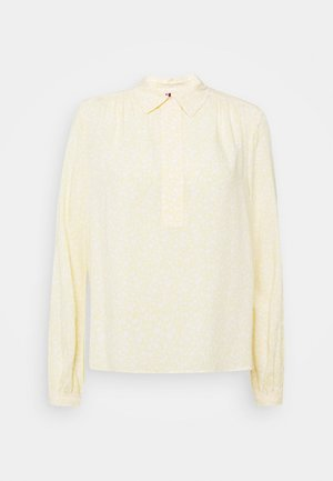 DANEE HALF PLACKET - Button-down blouse - posy/ sunray