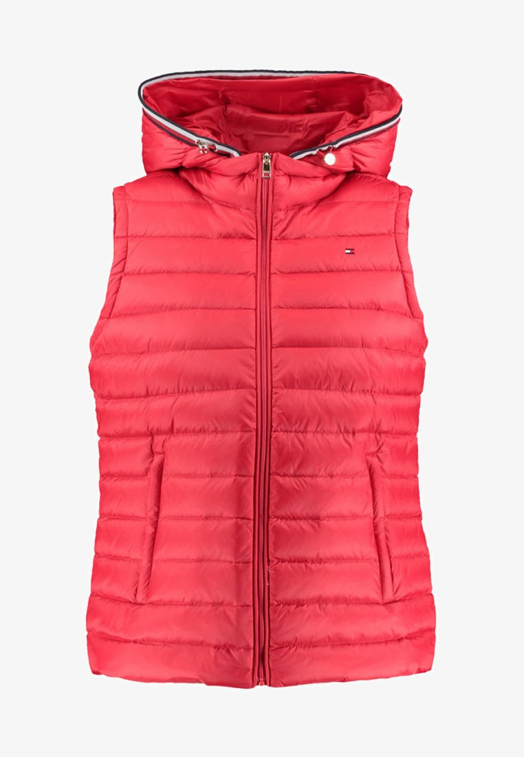 Tommy Hilfiger - ESSENTIAL LW DOWN - Waistcoat - red