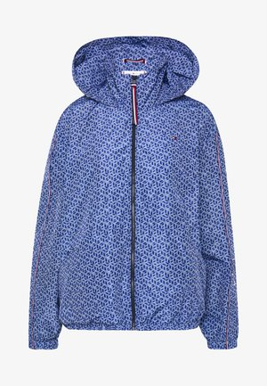 CORY FUNNEL PACKABLE WINDBREAKER - Summer jacket - blue ink