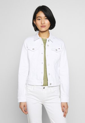 SHRUNK  - Denim jacket - white