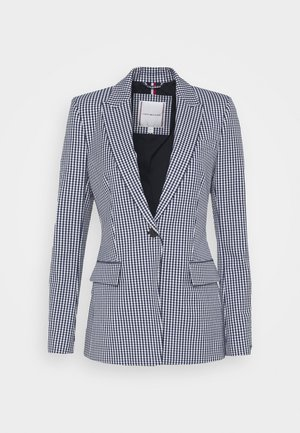 BLAZE - Blazer - gingham blue ink/white