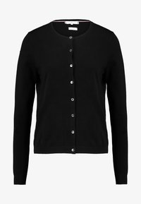 Tommy Hilfiger - HERITAGE BUTTON UP CARDIGAN - Kardigan - black