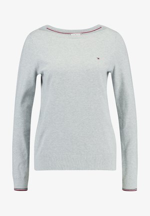 NEW IVY BOAT - Sweter - grey