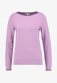 Tommy Hilfiger - NEW IVY BOAT - Svetr - dusty lilac - 3