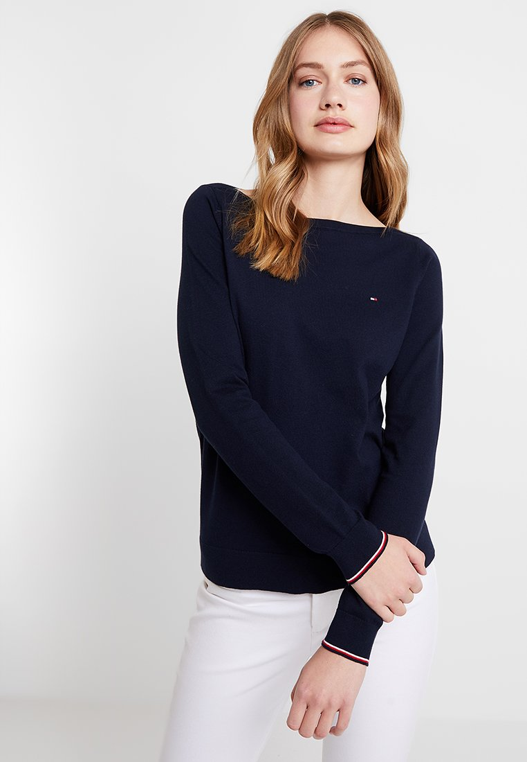 Tommy Hilfiger - NEW IVY BOAT - Maglione - blue