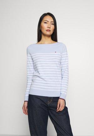 NEW IVY BOAT - Trui - classic white/breezy blue