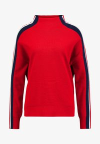 Tommy Hilfiger - MAISY MOCK - Maglione - red - 4