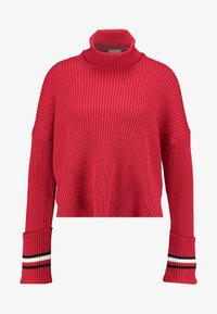 Tommy Hilfiger - HASEL ROLL - Pullover - red - 4