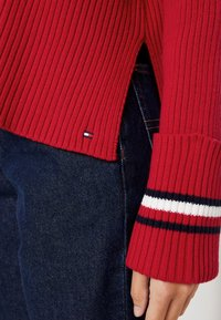 Tommy Hilfiger - HASEL ROLL - Pullover - red - 3