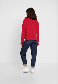 Tommy Hilfiger - HASEL ROLL - Pullover - red - 2