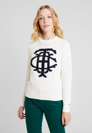ESSENTIAL GRAPHIC - Jumper - white