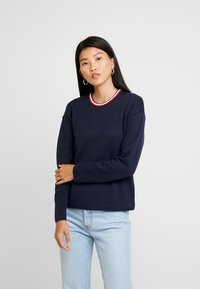 Tommy Hilfiger - HENIE REVERSIBLE - Jumper - blue - 0